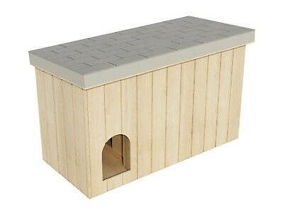 Plans to build a Large Dog House (DIY Plans)