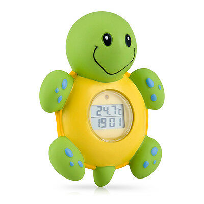 NUBY Baby 3 IN 1 Bath Time Floating Digital Thermometer Clock & Timer Kid's Toys