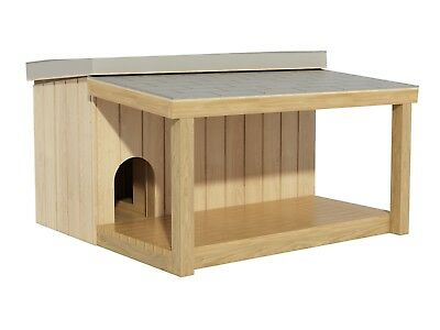 Plans to build a Large Dog House with a Covered Porch (DIY Plans)