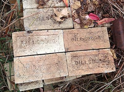 Antique Dillsburg PA sidewalk brick salvage reclaimed Pennsylvania