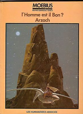 Moebius. L'homme Est Il Bon? Arzach. The Long Tomorrow. French Edition. 1981. Vg