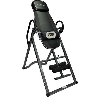 Health Gear ITM 4800-A Deluxe Heat and Massage Inversion Table NEW!!