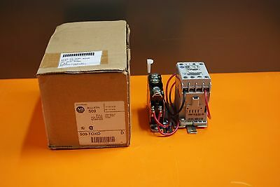 Allen Bradley 509-Toxd Full Voltage Starter 120V Nema Size 00 1Ph. New