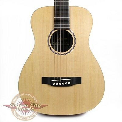 Brand New Martin LX1 Little Martin Acoustic Guitar Natural Solid Spruce Top