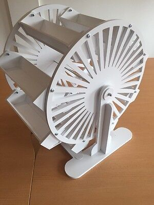 Candy Cart Ferris Wheel,New,Flatpack, 60cm High,Free Sign, Tongs,Scoop,100Bags