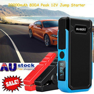 Suaoki Multi-Function Car Jump Starter Battery Charger Power Bank 20000mAh 800A