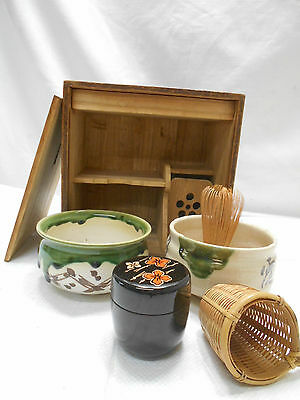 Tea Set Japanese Tea Ceremony Traditional  Vintage #70