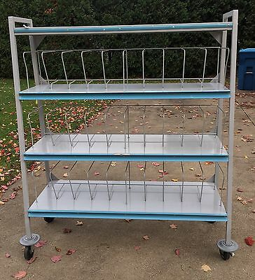 Carsten's Medical Chart Rack Mobile Shelving Unit