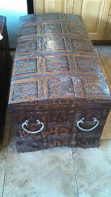 Antique russian trunk