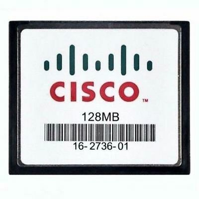 Cisco MEM-128CF 128 MB Compact Flash Memory 1841 2811 2821 2851 3825 3845 Router