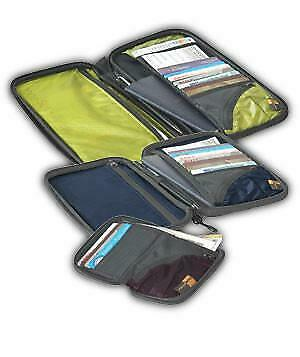 NEW Sea To Summit TravellingLight Travel Wallet: Lime/Black