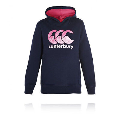 Canterbury OYH CCC Princess Junior Girls Blue Long Sleeve Rugby Hoody Top