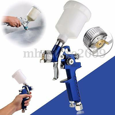 Mini Air Spray Gun | 0.8mm HVLP Touch Up Paint Sprayer Car Detail Spot Repair