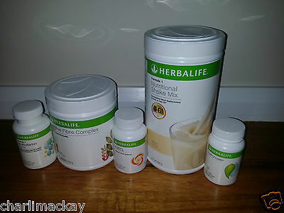 Herbalife Quickstart Weight Loss Programme U CHOOSE F1 FLAVOUR EXP FROM: 4/2017