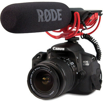 Rode VIDEOMIC Camera Mounted Shotgun Professional Microphone For Canon Nikon MIC