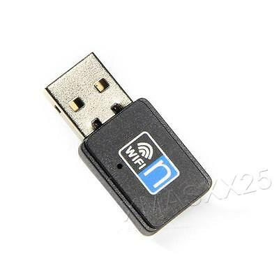 Mini 300Mbps Usb Wifi Adapter Wireless Dongle Adaptor 802.11 BGN Lan Windows Mac