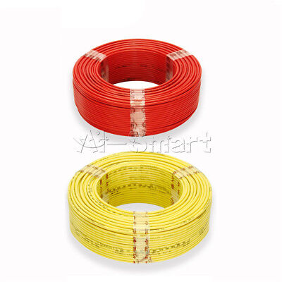 10M Flexible Stranded of UL-1007 24 AWG wire cable Yellow/Blue/Red/Black 300V UK