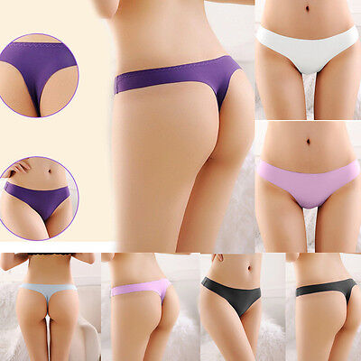 NEW Sexy Seamless G-string Briefs Panties Thongs Lingerie Underwear Knickers