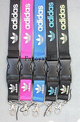 10 pcs Keychain Holder Lanyard Sports Neck Strap Cell Phone ID NLK-33