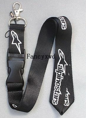 10 pcs Black Lanyard Neck Strap/String with Metal Ring Apparel Brands NLK-35
