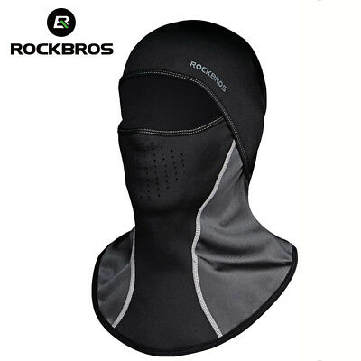 RockBros Winter Cycling Warm Windproof Hood Bike Masks Fleece Scarf With Filter
