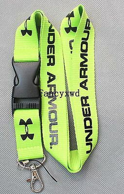 10 pcs Polyester Neck Strap With Remove Buckle Apparel Brands Lanyard  NLK-40