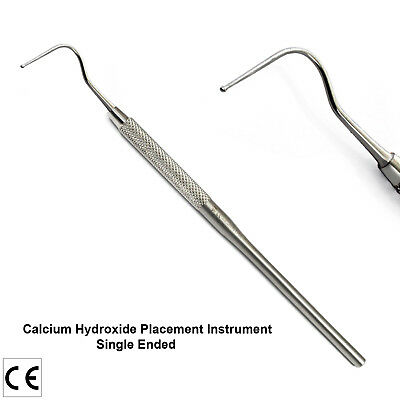 Calcium Hydroxide Placement Cavity Liner Dental Instruments Single Ended Lab