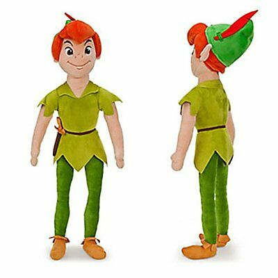 New Disney Store Peter Pan Soft Plush Jake & the Neverland Pirates 55cm Toy Doll