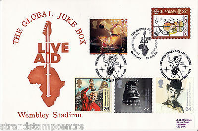1999 Entertainers - Bradbury Live Aid Pop Culture Official (With FULL SET) !!