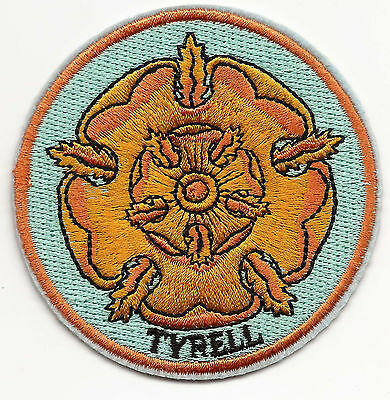Game of Thrones House Tyrell Iron-on Embroidered Patch 7.7x7.8cm Good Luck Magic