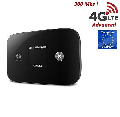 Neues  Huawei E5786 4G LTE 300 Mbs Router WIFI b/g/n/11AC. 2.4 GHz and 5 GHz