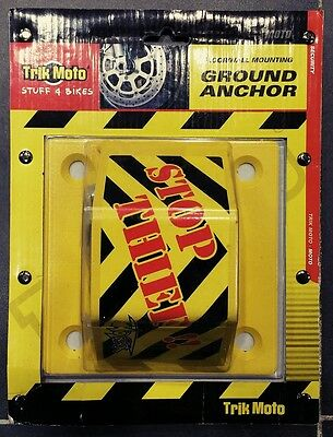 Trik Moto Heavy Duty Ground / Wall / Floor Anchor Security Device - £19.99!!