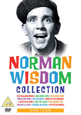 Norman Wisdom Collection DVD (2008) Norman Wisdom ***NEW***