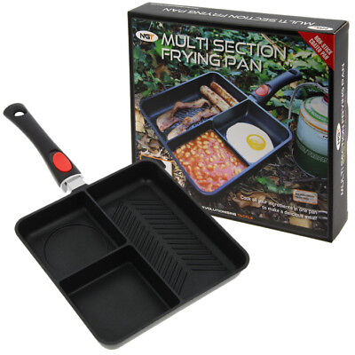 Ngt Multi Section Frying Pan Carp Fishing Tackle Camping Non Stick