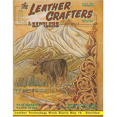 Leather Crafters & Saddlers Journal Past Issues Destash Clearance 2005 May/June