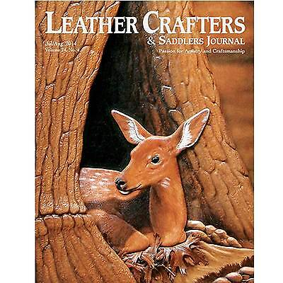 Leather Crafters & Saddlers Journal Back Issues Clearance Sale - 2014 Issues