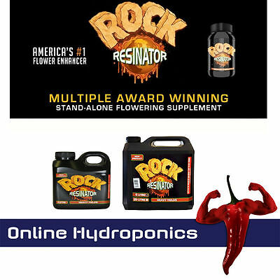 Rock Resinator 250ml, 1 Litre, 5 Litre  Flowering Booster