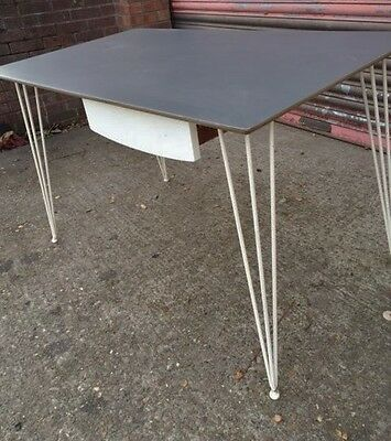 1950s 60s vintage Kandya table & 4 chairs formica plywood  Frank guille Heals