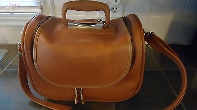 Vintage Dionite Leather Bag Tote Carry On