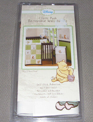 Classic Winnie The Pooh Removable Wall Decals Baby Nursery Decor Tigger Eeyore