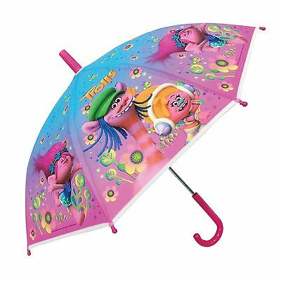 Dreamworks Official Childrens Kids Trolls Umbrella Brolly