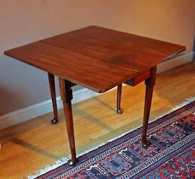 Georgian Mahogany Pad Foot Dining Table