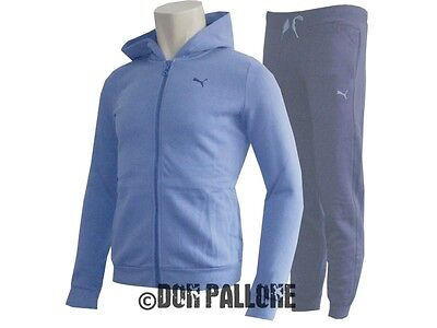 Puma FUN Hooded Sweat Suit Girls Sport Anzug Training Fitness Freizeit 110 - 164