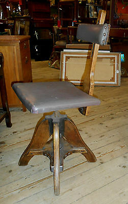 R Tyzack World War 2 Draughtsmans Chair George VI  Ministry contract 1943 rare