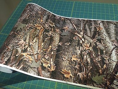 "20 Feet CAMO ROLL VINYL WRAP 24"" roll truck ATV gear Oak Ambush Rifle Mossy A8G"
