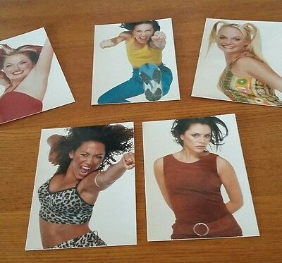 spice girls postcard set