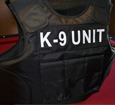 UNIT TAGS // 3A SIZE XL Body Armor Bullet Proof / Stab Proof  Vest NEW!!!