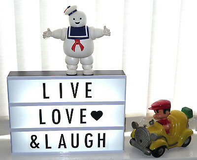 """Ginger Snap """"Light Up Your Life"""" A4 Cinematic Light Box Sign Party Decoration"""