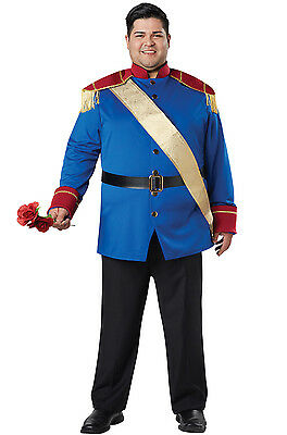 Brand New Storybook Prince Charming Adult Plus Size Costume