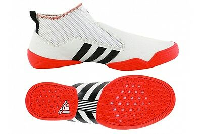 Adidas Contestant Martial Arts Trainers Rio 2016 Laceless Karate Taekwondo Shoes